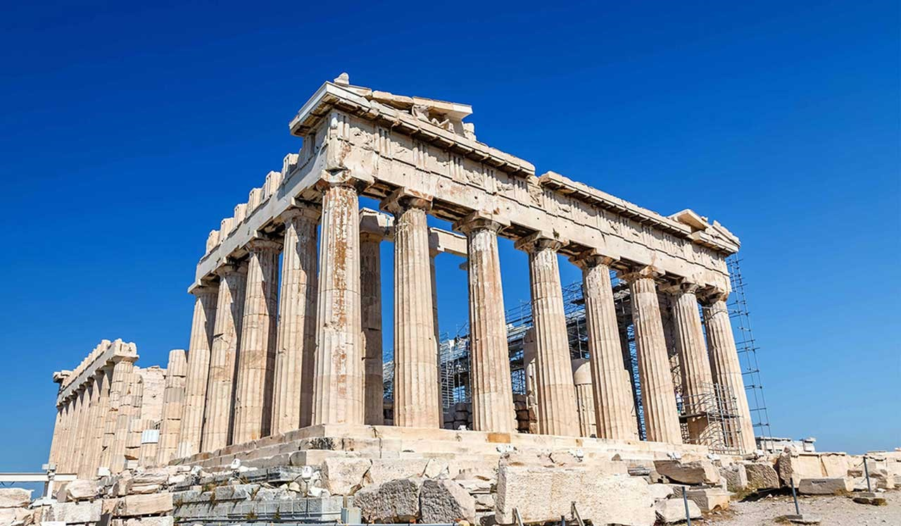 See the sights of Ancient Greec