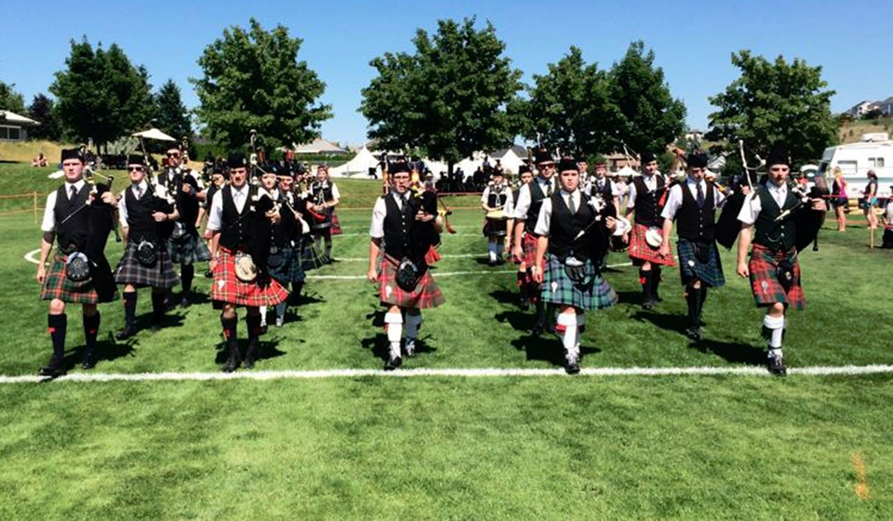 The Foundation Pipe Band of New Zealand arrange their travels through Simon Hocking